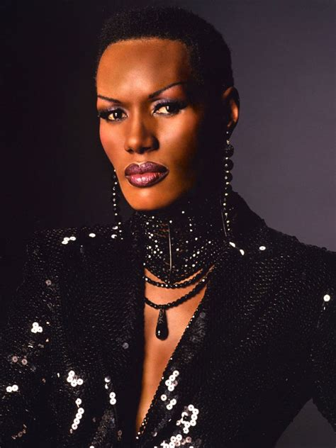who is black singer in manning cm grace jones modices