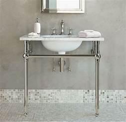 bathroom sinks with legs sink with chrome legs ideas for a new bathroom