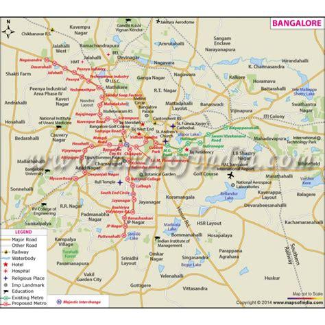bangalore city map images buy bangalore city map