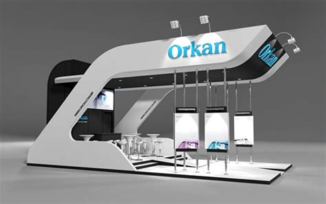 design booth coreldraw orkan brasil automation isa on behance