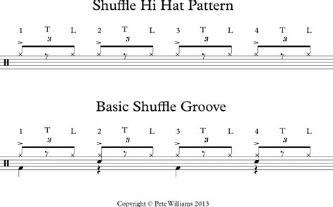 drum groove tutorial video lesson 01 12 13 the basic shuffle groove element