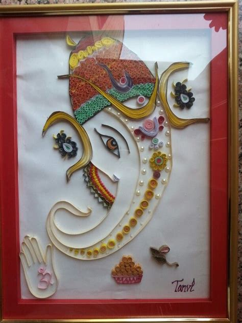 quilling ganesha tutorial 17 best images about sri ganesh art on pinterest wall