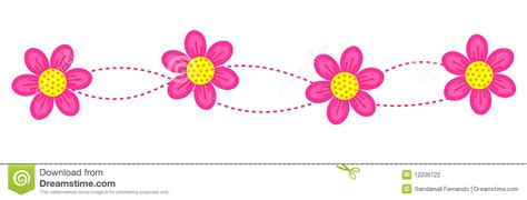 Line Flower flower clipart line pencil and in color flower clipart line