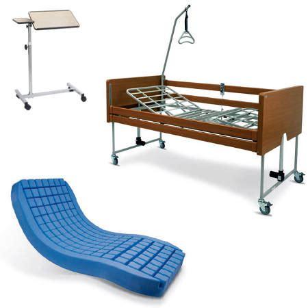letti antidecubito letto elettrico in legno con sponde materasso