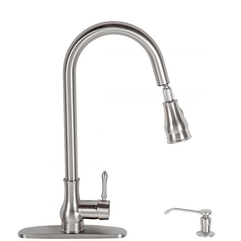 kitchen sink faucet with pull out spray kitchen swivel pull out faucet single handle spout basin