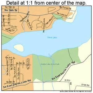 lincoln city oregon map 4142600