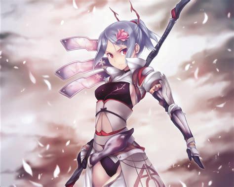 wallpaper anime girl warrior 8589130405404 anime girl warrior wallpaper hd jpg