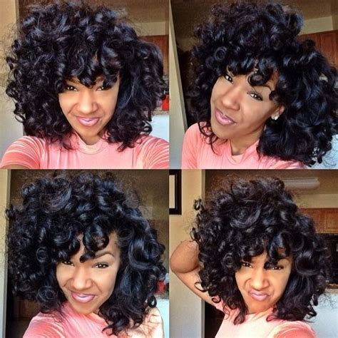 perm rod on weave fabulous corrine bailey rae inspired twist out beautiful