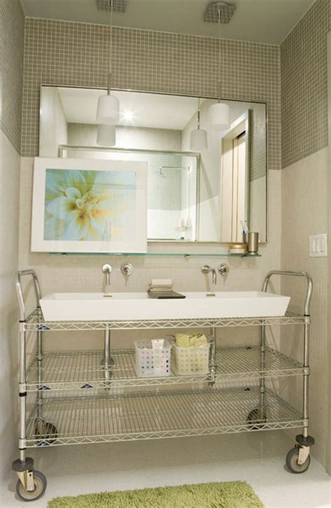 small bathroom cart green design and why you should use it
