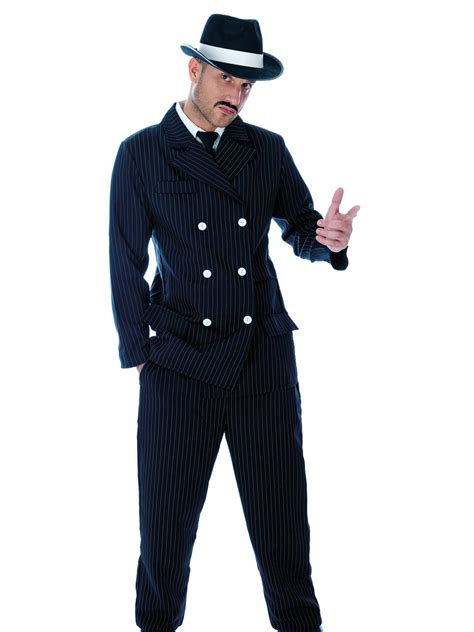 mens 20s costumes costume discounters men s gangster costume 20s fancy dress hub