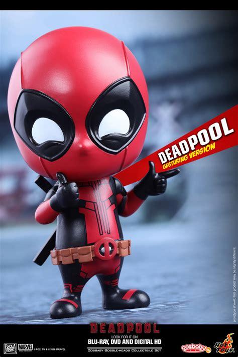 deadpool toys five new deadpool cosbabies plastic and plush