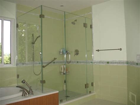 Corner Frameless Glass Shower Enclosures Traditional Corner Glass Shower Doors Frameless