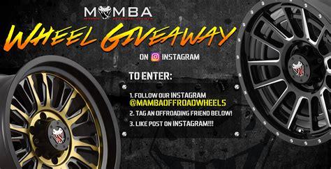 Giveaway Wheel - mamba wheel giveaway 2017 mamba offroad wheels