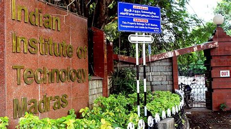 Iit Madras Ranking For Mba by India Rankings 2017 Here S The List Of Top Engineering