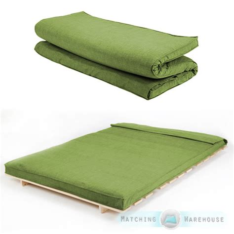 futon mattress filling fabric double size futon mattress folding foam filled