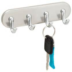 stainless steel york magnetic key rack the container store