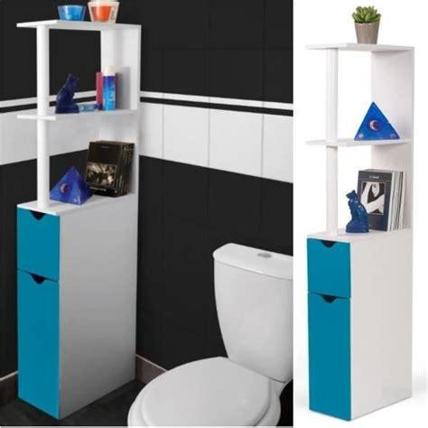 Wc Gain De Place 5263 by Meuble Toilette Cdiscount