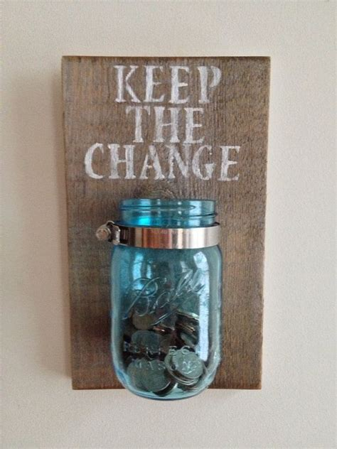 home made room decorations keep the change laundry room decor by shoponelove on etsy