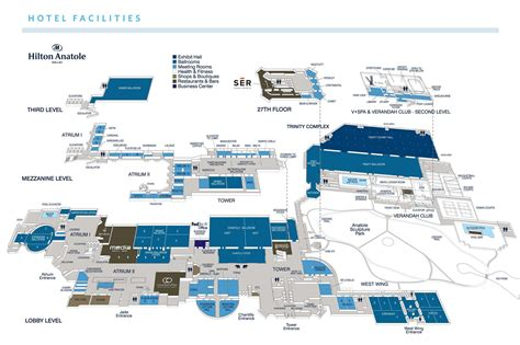 hilton anatole floor plan hotel travel naaap convention 2015