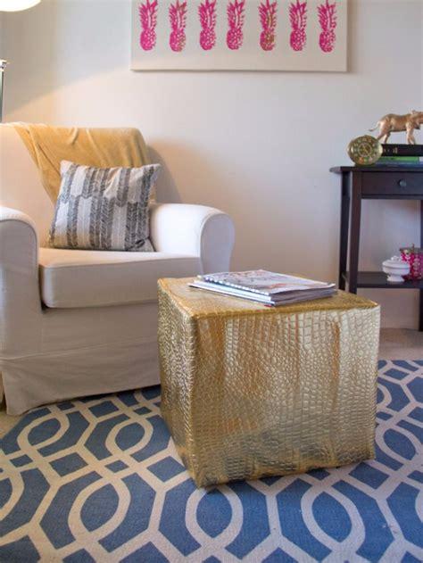 diy ottoman pouf 32 fabulous diy poufs your living room needs right now