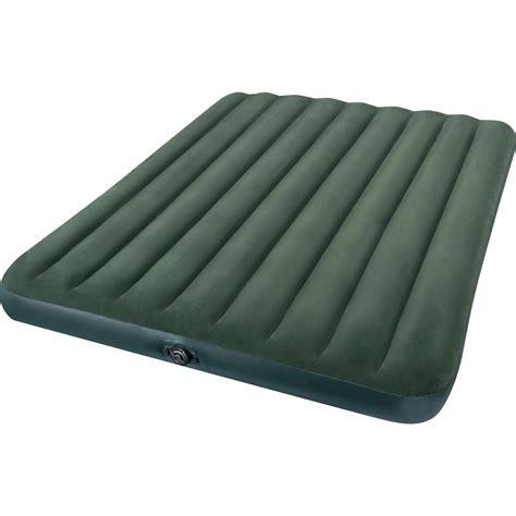 intex comfort plush elevated dura beam airbed intex twin 18 quot elevated premium comfort airbed mattress