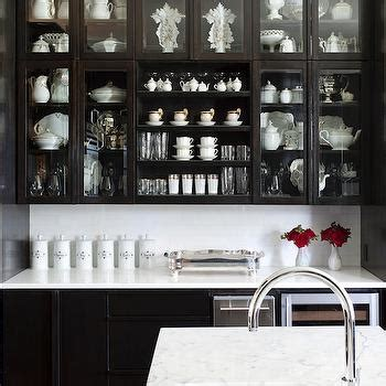glass front kitchen cabinets transitional kitchen kvanum glass front kitchen cabinets design decor photos