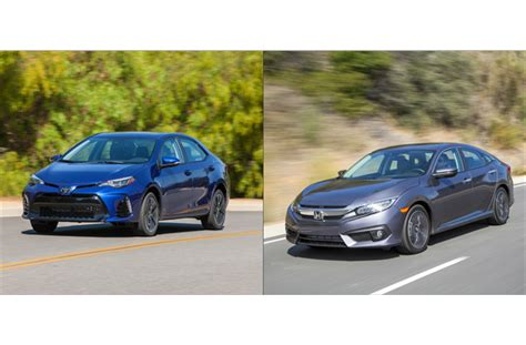 Which Car Is Better Honda Civic Or Toyota Corolla Honda Civic Vs Toyota Corolla To U S News