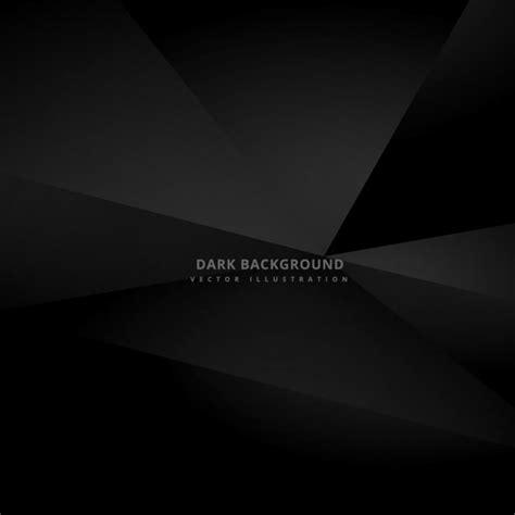 black abstract wallpaper vector black polygonal background vector free download