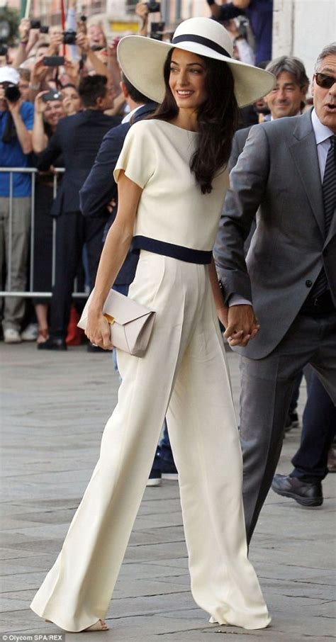 Amel Kimono amal clooney s date style does it deserve a thumbs