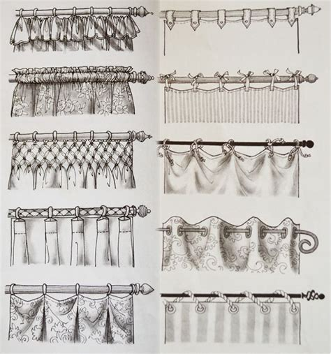 curtain hanging styles 17 best ideas about curtain styles on pinterest drapery