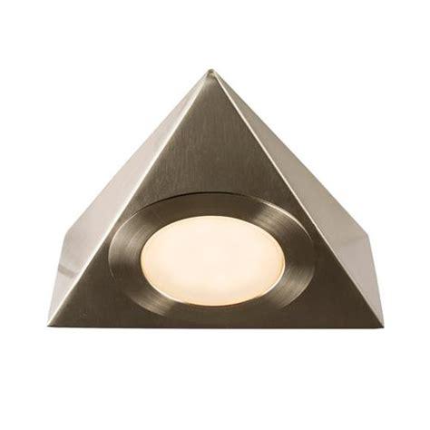 Nyx Single Triangular Led Under Cabinet Light The Triangular Cabinet Lights