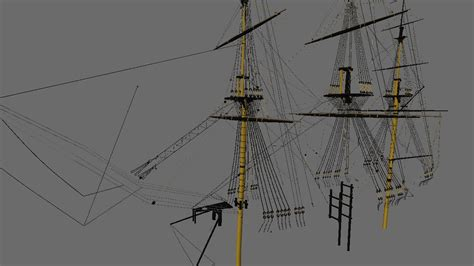 ship rigging hms victory rigging