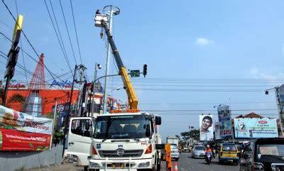 Cctv Di Cirebon antisipasi kemacetan jalur pantura dipasangi cctv zona