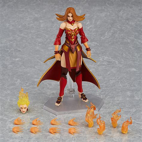 Figure Dota 2 Lina The Slayer 2 crunchyroll of quot dota 2 quot inspire new nendoroid and figma