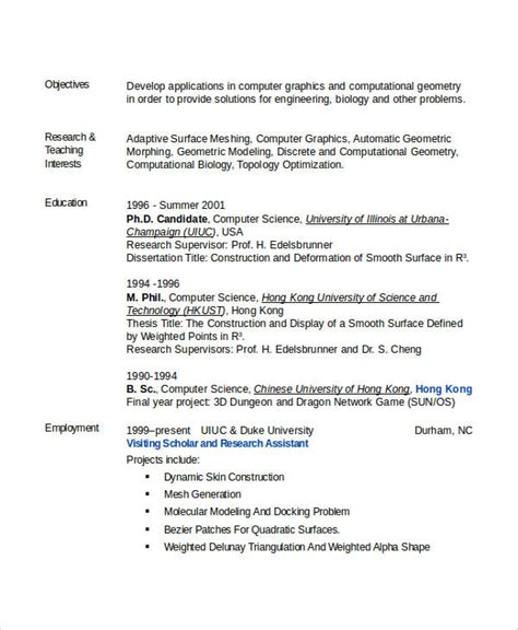 computer science resume format doc engineering resume template 32 free word documents free premium templates
