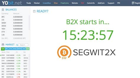bitconnect yobit yobit bitcoin segweet b2x balances 1 1 btc will be