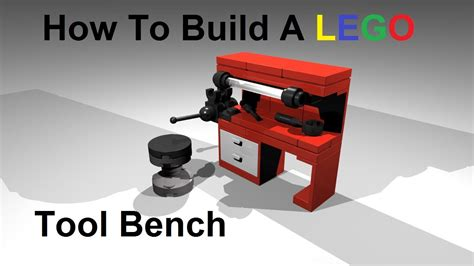 how to make a lego bench how to build a lego tool bench custom moc instructions