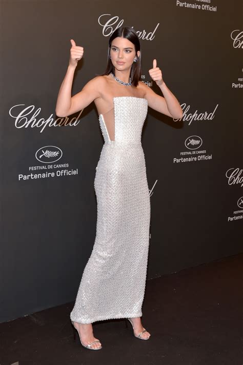 kendall jenner  chopard space party  cannes france