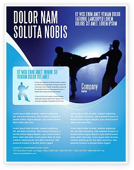 Martial Art Flyer Template Background In Microsoft Word Publisher And Illustrator Formats Martial Arts Flyer Template