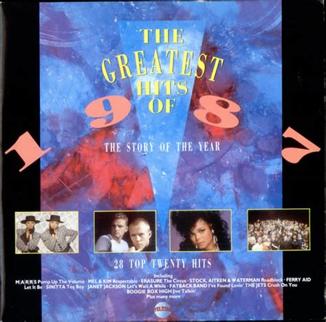 Top Hits Koreanpop Indo Pop various pop the greatest hits of 1987 the story of the