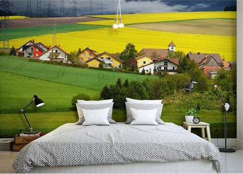 3d wall murals wallpaper customized 3d photo murals rural