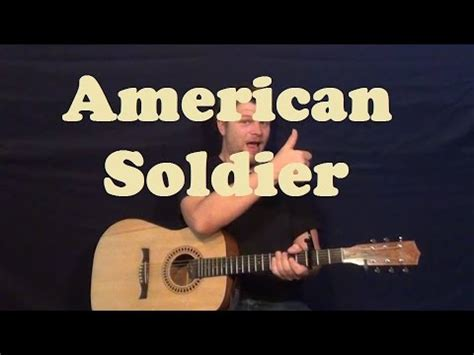 toby keith easy now american soldier toby keith easy guitar lesson strum