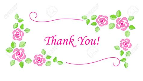 Thank You Flowers by Thank You Flowers Clipart Clipground