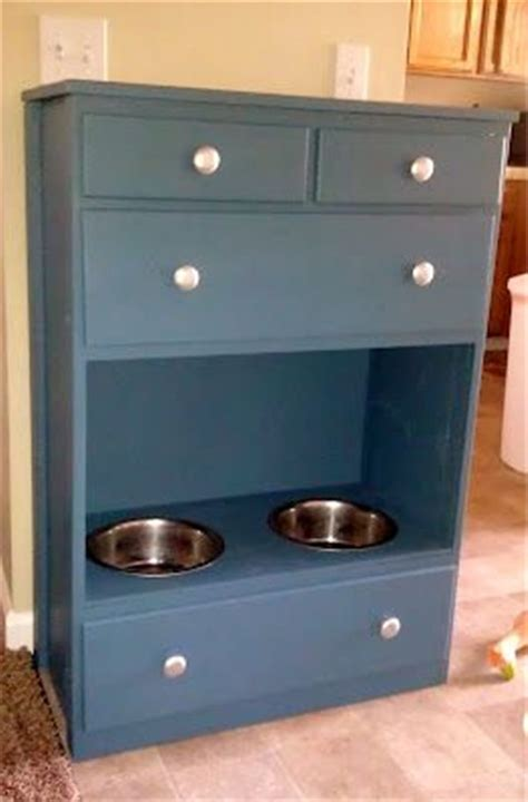 pet feeding station cabinet diy dog feeding station ideas your pet will like fallinpets