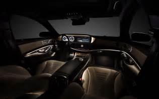 Inside Mercedes 2014 Mercedes S Class Interior Photo 24