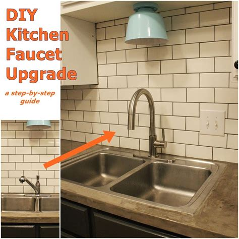 upgrade  install  kitchen faucet