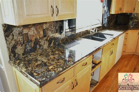 Granite Countertops Colors Cost For 2018 Interior Design Granite Kitchen Countertop