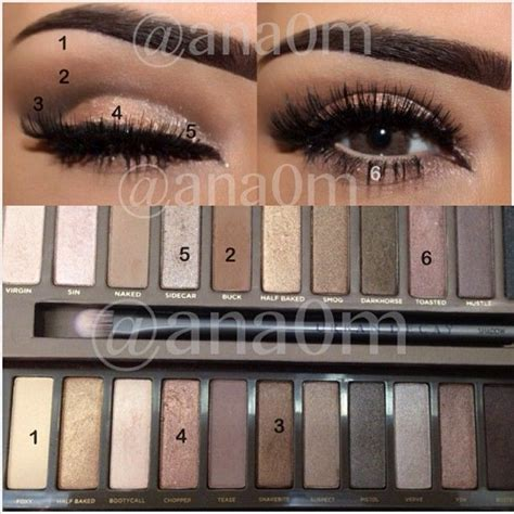 4 Naked4 Decay Eyeshadow Fc primer decay eyeshadow decay 1 2 maybelline brown gel eyeliner everyday
