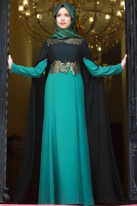 design gaun pesta 2015 baju pesta muslimah terbaru dengan sentuhan modern