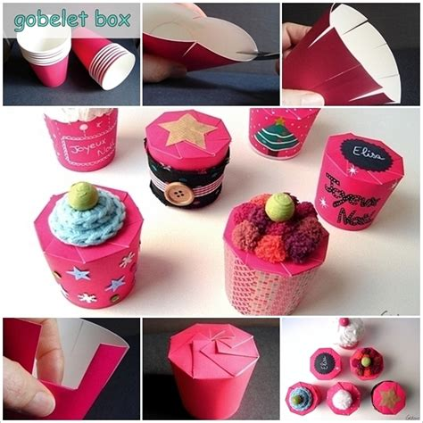 12 Creative Diy Gift Ideas For A Paper Anniversary Creative Paper Cup Gift Box Idea For You To Try Amazing House Design